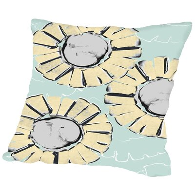 Edgy Daisy Placement Throw Pillow Size: 20 H x 20 W x 2 D