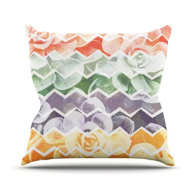 Desert Dreams by Daisy Beatrice Throw Pillow Size: 18 H x 18 W x 3 D
