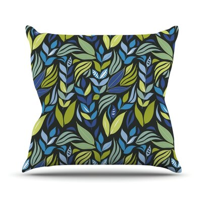 Underwater Bouquet Outdoor Throw Pillow Color: Night
