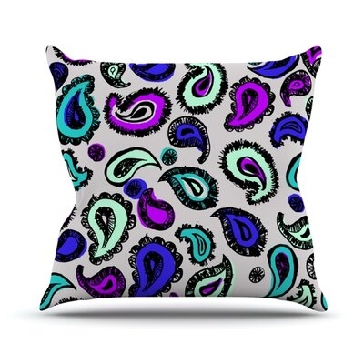 Fun by Gabriela Fuente Outdoor Throw Pillow Color: Pink