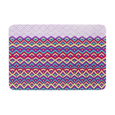 Horizons by Pom Graphic Design Bath Mat Color: Purple