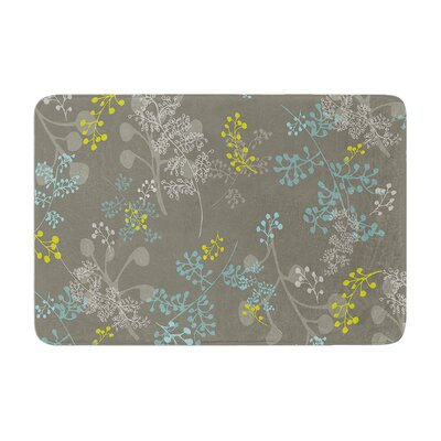 Ferns Vines by Laurie Baars Bath Mat Color: Green