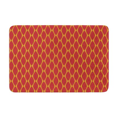 Marsala by Nandita Singh Bath Mat Color: Mustard
