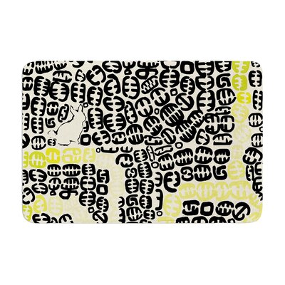 Oliver by Theresa Giolzetti Bath Mat Color: Yellow