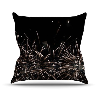 Fireworks by Catherine McDonald Throw Pillow Size: 16 H x 16 W x 3 D