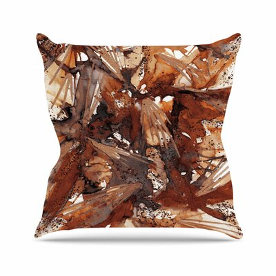 Birds of Prey Throw Pillow Color: Rust Tan / Brown, Size: 20 H x 20 W x 7 D
