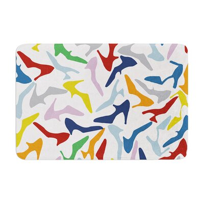 Shoe by Project M Bath Mat Color: Multi
