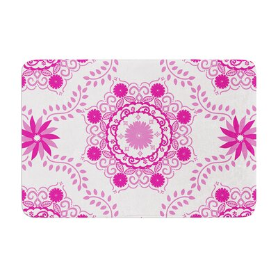 Lets Dance by Anneline Sophia Bath Mat Color: Fuschia, Size: 24 W x 36 L
