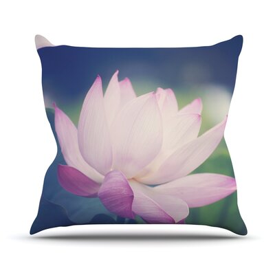 Hope for Tomorrow II by Catherine McDonald Throw Pillow Size: 16 H x 16 W x 3 D