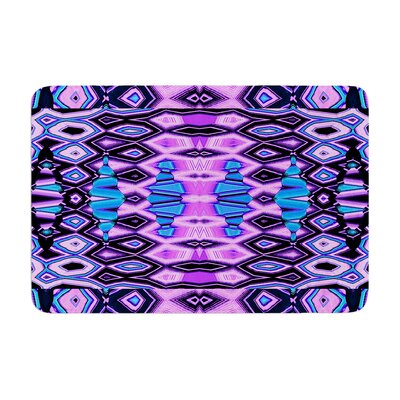 Deztecca by Nina May Bath Mat Color: Lilac