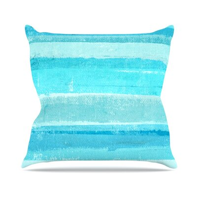Sand Bar by CarolLynn Tice Throw Pillow Size: 18 H x 18 W x 3 D