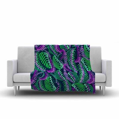 Rhythm Fleece Throw Blanket Size: 60 L x 50 W