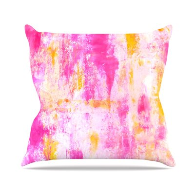 Fancy by CarolLynn Tice Throw Pillow Size: 16 H x 16 W x 3 D