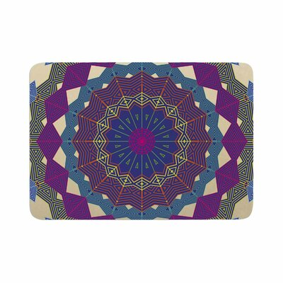 Composition by Angelo Carantola Bath Mat Color: Purple