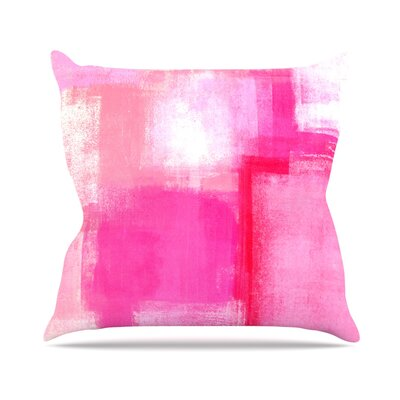 Running Late by CarolLynn Tice Throw Pillow Size: 20 H x 20 W x 4 D
