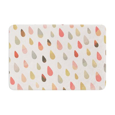 Opal Drops by Daisy Beatrice Bath Mat Color: Dusk, Size: 17