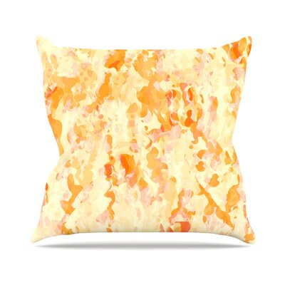 Explosion by CarolLynn Tice Throw Pillow Size: 16 H x 16 W x 3 D