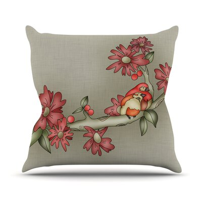 Feng Shui by Carina Povarchik Throw Pillow Size: 18 H x 18 W x 3 D