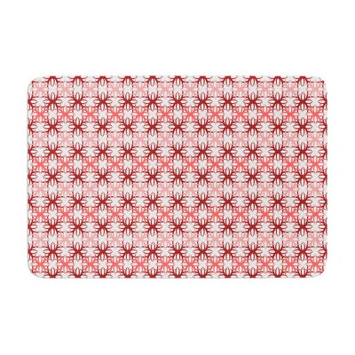 Motifs by Nandita Singh Bath Mat Color: Pink
