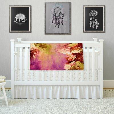 Winter Dreamland 3 by Ebi Emporium Fleece Blanket Color: Pink