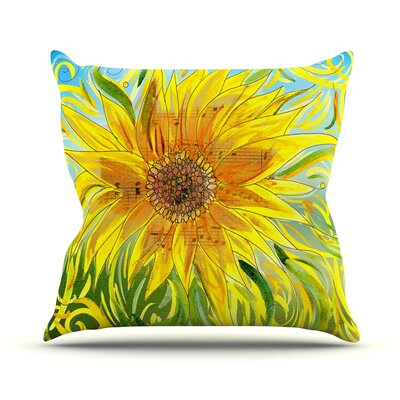 Syaured by Catherine Holcombe Throw Pillow Size: 16 H x 16 W x 3 D