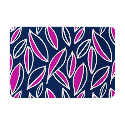 Leaving by Emine Ortega Bath Mat Color: Magenta, Size: 24 W x 36 L