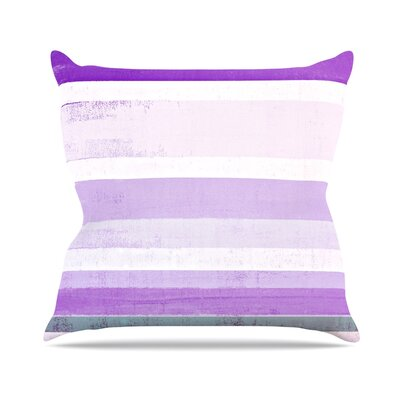 Grape by CarolLynn Tice Throw Pillow Size: 20 H x 20 W x 4 D