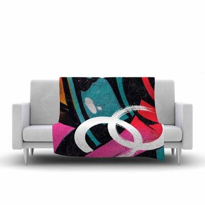 Channel Zero Fleece Throw Blanket Size: 80 L x 60 W