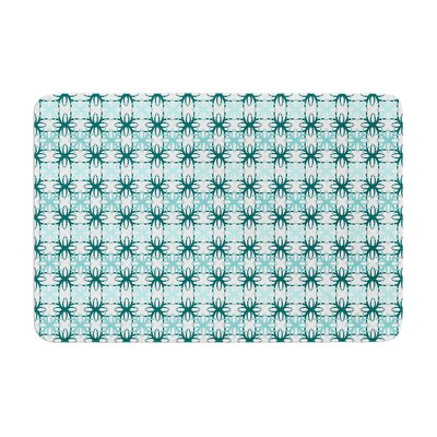 Motifs by Nandita Singh Bath Mat Color: Blue