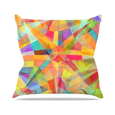 Star by Danny Ivan Throw Pillow Size: 26 H x 26 W x 5 D