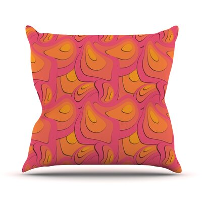 Fly Away Sadness by Akwaflorell Throw Pillow Size: 20 H x 20 W x 4 D
