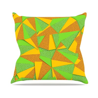 This Side by Danny Ivan Throw Pillow Size: 16 H x 16 W x 3 D