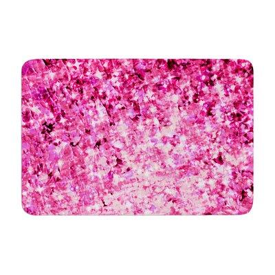 Romance Me by Ebi Emporium Bath Mat Color: Pink, Size: 17W x 24L