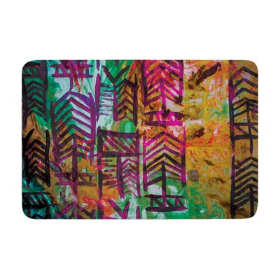 Quiver by Theresa Giolzetti Bath Mat Color: Multi