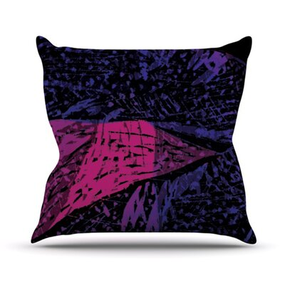 Family by Theresa Giolzetti Outdoor Throw Pillow Color: Purple/Pink