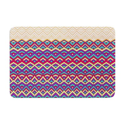 Horizons by Pom Graphic Design Bath Mat Color: Orange