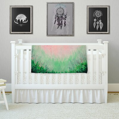 Mystic Garden by Ebi Emporium Fleece Blanket Color: Pink