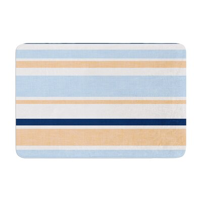 Jack Tar by Alison Coxon Bath Mat Color: Pink, Size: 17