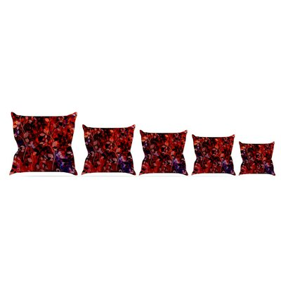 Throw Pillow Size: 16 H x 16 W x 3 D, Color: Summer Nights