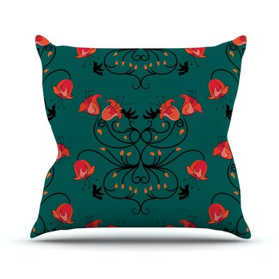 Hummingbird Throw Pillow Size: 18 H x 18 W x 3 D