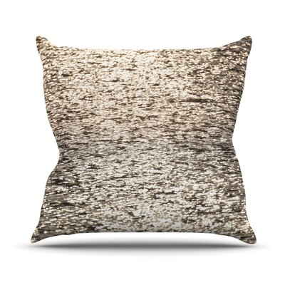 Golden Hour by Catherine McDonald Throw Pillow Size: 16 H x 16 W x 3 D