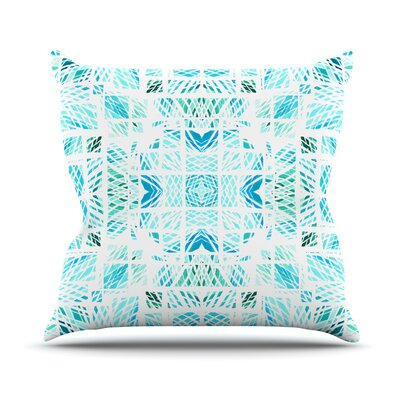 Scandanavian Square by Danii Pollehn Throw Pillow Size: 26 H x 26 W x 5 D
