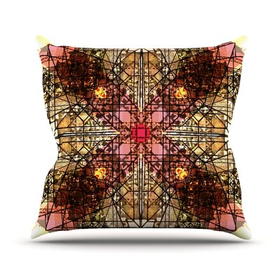 Viereck by Danii Pollehn Throw Pillow Size: 18 H x 18 W x 3 D