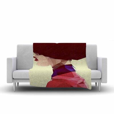 Chic Hat Fleece Throw Blanket Size: 80 L x 60 W