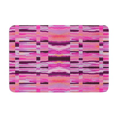 Samanna by Nina May Bath Mat Color: Pink Tribal