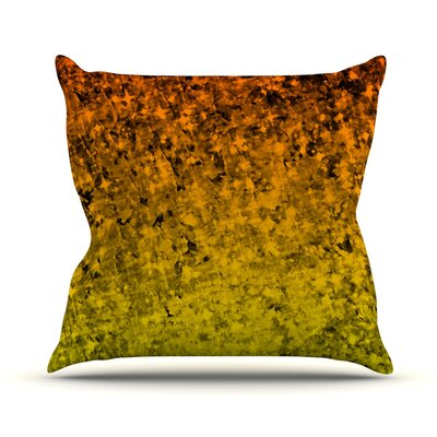 Romance Me Outdoor Throw Pillow Color: Orange