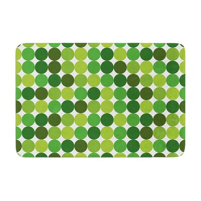 Harvest Bath Mat Color: Green, Size: 17W x 24L