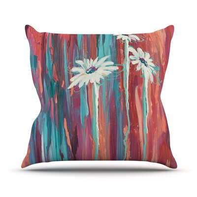 Daises by Brienne Jepkema Outdoor Throw Pillow Color: Multi