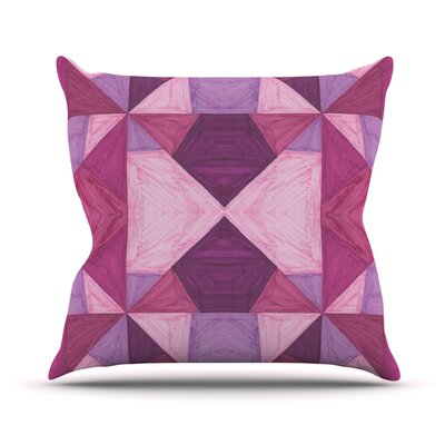 Angles by Empire Ruhl Throw Pillow Size: 26 H x 26 W x 5 D
