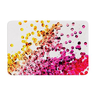 Balance by Louise Machado Bath Mat Color: Purple